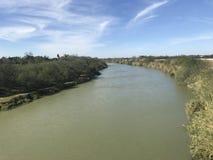 Rio grande, rzeka zdjęcie royalty free