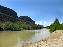 Rio Grande in Texas Royalty Free Stock Photo