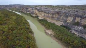 Rio Grande Texas video aéreo vídeos de arquivo