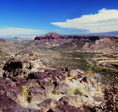 Rio Grande Valley och Sangre de Cristos Range - NM Royaltyfri Fotografi