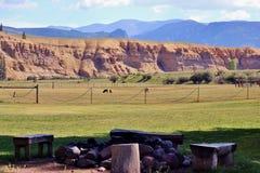 Rio Grande Valley Ranch stockbilder