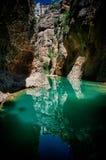 Rio Guadalevin, Ronda, Spanje Royalty-vrije Stock Foto