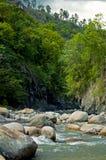 Rio Gualcarque Immagine Stock Libera da Diritti