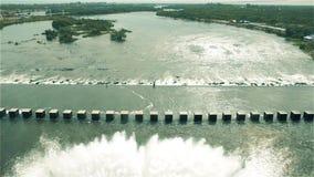 Rio Hondo Dam, in Santiago Del Estero Argentina video d archivio