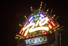 LAS VEGAS, NV - Rio Sign royalty free stock images