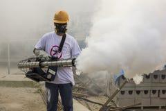 Rio intensifica la lotta contro l'aedes aegypti della zanzara di Zika Fotografia Stock