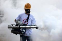 Rio intensifie le combat contre l'aegypti d'aedes du moustique de Zika Photographie stock libre de droits