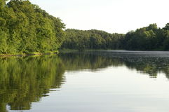 Rio Iroquois illinois imagem de stock