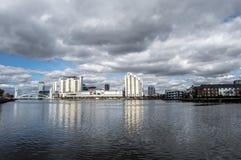 Rio Irwell em Manchester Fotos de Stock