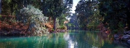 Rio Jordão Imagem de Stock