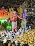 Rio-Karneval, 2008. lizenzfreie stockbilder
