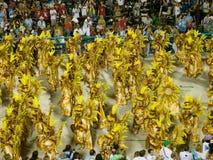 Rio-Karneval, 2008. Lizenzfreie Stockfotografie