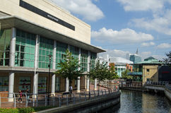 Rio Kennet no centro de compra de Oracle, leitura Fotos de Stock Royalty Free