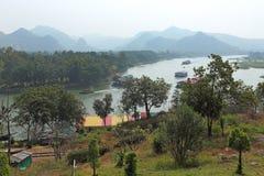 Rio Kwai Imagem de Stock
