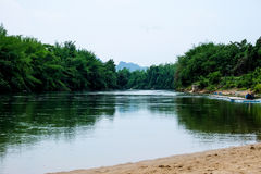 Rio Kwai Noi Imagens de Stock