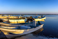 Rio Lagartos Waterfront imagem de stock royalty free