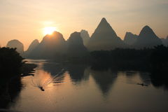 Rio Li Fotografia de Stock Royalty Free