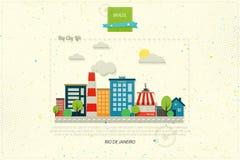 Rio life royalty free illustration