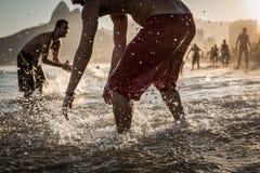 Rio Lifestyle. Rio de Janeiro, Brasil, Ipanema beach culture Royalty Free Stock Photography