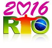 Rio Logo Royalty Free Stock Photography