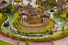 Rio louco no parque de diversões Fotografia de Stock