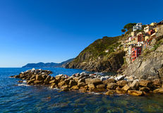 Rio maggiore coast Royalty Free Stock Photos