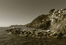 Rio maggiore coast Royalty Free Stock Images