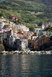 Rio Maggiori Village Royalty Free Stock Image