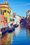 Rio Marin in Cannaregio area, Venice, Italy Stock Photos