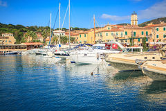 Rio Marina haven Royalty Free Stock Photos