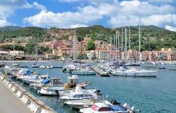 Rio Marina, Insel von Elba, Toskana, Italien lizenzfreie stockfotografie