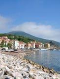 Rio Marina, Insel von Elba, Toskana, Italien stockfotografie