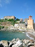 Rio Marina,Island of Elba,Italy. Village of Rio Marina on Island of Elba,Tuscany,mediterranean Sea,Italy royalty free stock images