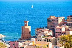 Rio Marina, Isle of Elba, Italy. View of Rio Marina, Isle of Elba, Italy stock photography