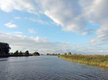 Rio Minija, Lituânia Imagens de Stock