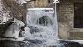 Rio Mississípi, Almonte, Ontário, Canadá imagem de stock