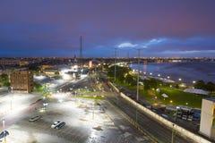 Rio Mississípi em Nova Orleães, Louisiana fotos de stock royalty free
