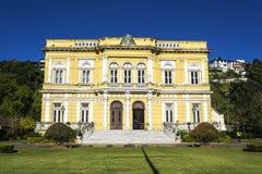 Rio murzyna pałac - oficjalna lato siedziba Brazylia prezydenci zdjęcie royalty free