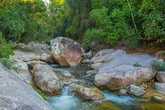 Rio na selva de Vientm Imagem de Stock