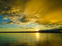 Rio Napo fotografia stock