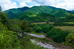 Rio nas montanhas Fotografia de Stock