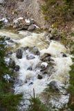 Rio nas montanhas Imagem de Stock