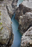 Rio nas rochas fotos de stock