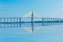 Rio Negro Bridge in Manaus, Amazon Brazil Royalty Free Stock Photos