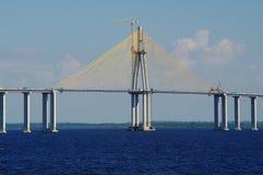 Rio Negro Bridge sob a construção Imagens de Stock