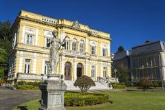 Rio Negro Palace - de officiële de zomerwoonplaats van de Voorzitters van Brazilië Royalty-vrije Stock Afbeeldingen