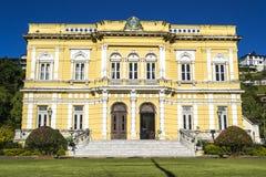 Rio Negro Palace - de officiële de zomerwoonplaats van de Voorzitters van Brazilië Royalty-vrije Stock Foto's