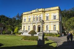 Rio Negro Palace - de officiële de zomerwoonplaats van de Voorzitters van Brazilië Stock Afbeelding