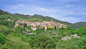 Rio nell Elba auf Elba-Insel, Italien lizenzfreie stockbilder