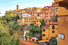Rio nell Elba town Royalty Free Stock Photo